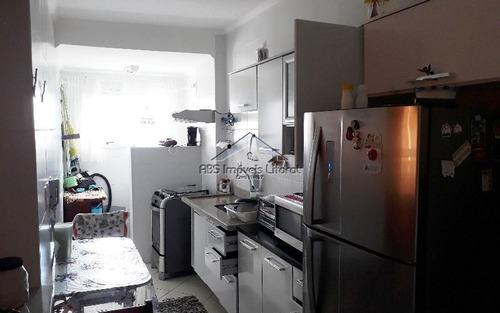 apartamento 2 dormitorios em vila caiçara - praia grande