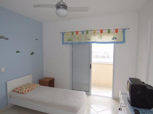 apartamento 2 dormitórios - florida - praia grande - sp