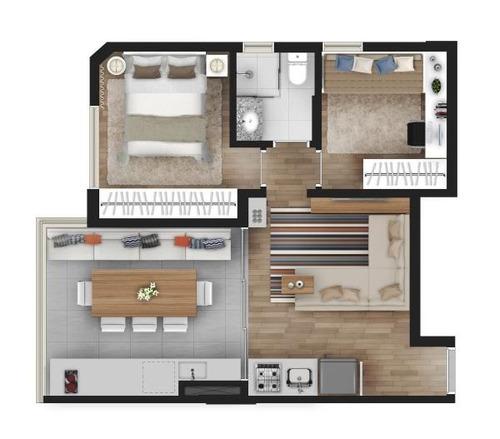apartamento 2 dormitórios lazer a 5 minutos do metrô saúde