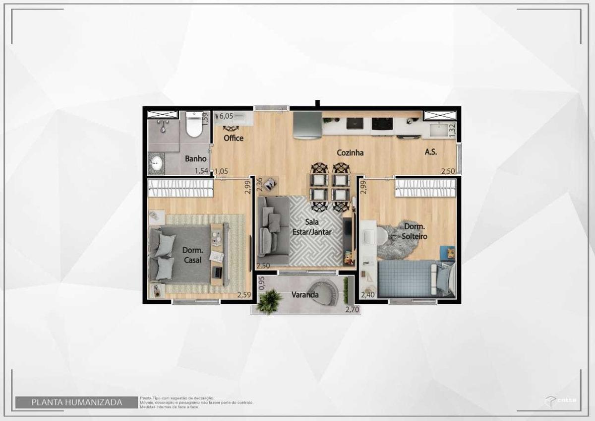 apartamento 2 dormitórios minha casa, minha vida em itaquera