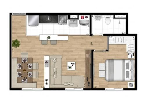 apartamento 2 dormitorios minha casa minha vida em são mateu - 3000