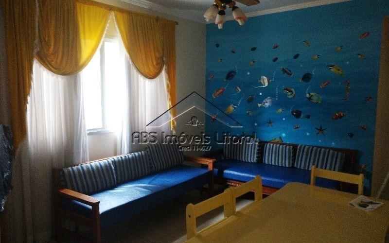apartamento 2 dormitórios na ocian praia grande - sp