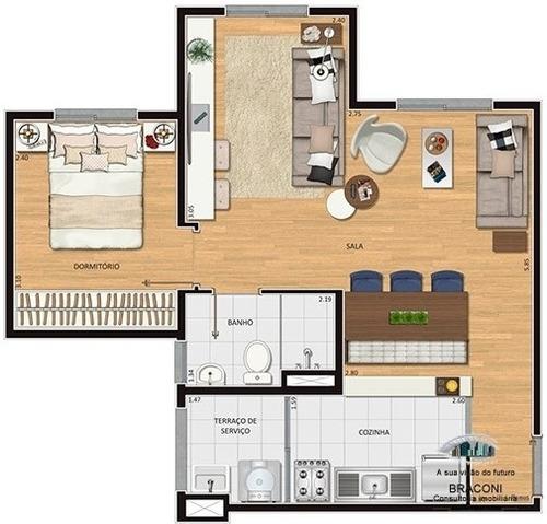 apartamento 2 dormitorios na penha  minha casa minha vida - 6852