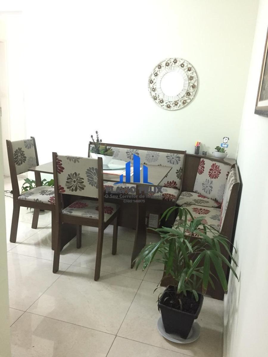 apartamento 2 dormitórios no spazio santa isabel. - 538