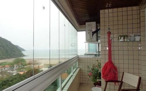 apartamento 2 dormitórios p/ venda no canto do forte em praia grande