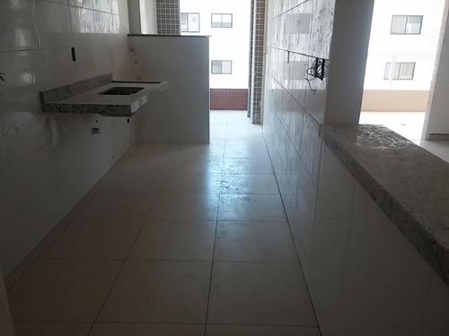apartamento 2 dormitórios sendo 2 suítes, canto do forte, praia grande. - codigo: ap5440 - ap5440