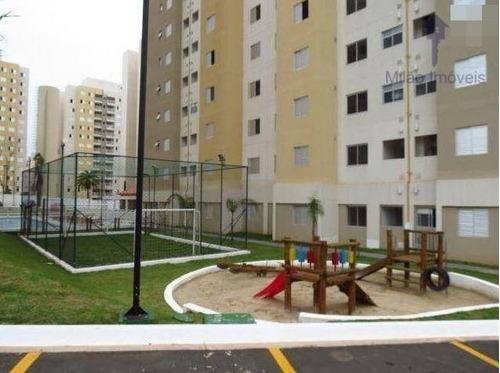 apartamento 2 dormitórios à venda, 47m²,  condomínio vida plena campolim em sorocaba/sp - ap1048