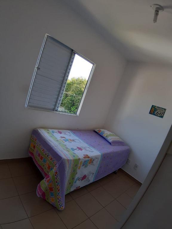 apartamento 2 dormitórios à venda,  em cond ipe roxo, 53 m² por r$ 217.000 - parque euclides miranda - sumaré/sp - ap1387