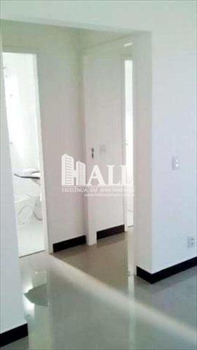 apartamento 2 dorms, 1 suíte, elev, 1 vg, são josé do rio preto - v1219