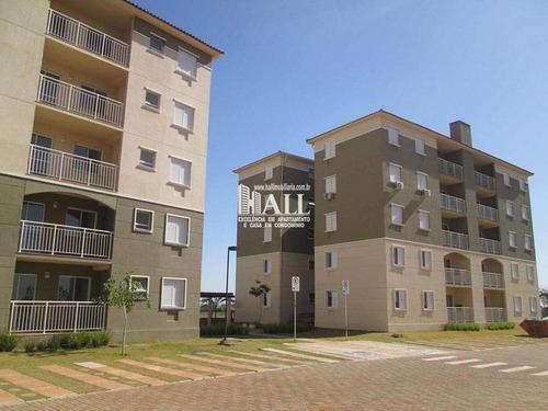apartamento 2 dorms, 1 suíte, elev, 2 vg, são josé do rio preto - v146