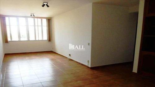 apartamento 2 dorms, 1 suíte, elev, 2 vg, são josé do rio preto - v457