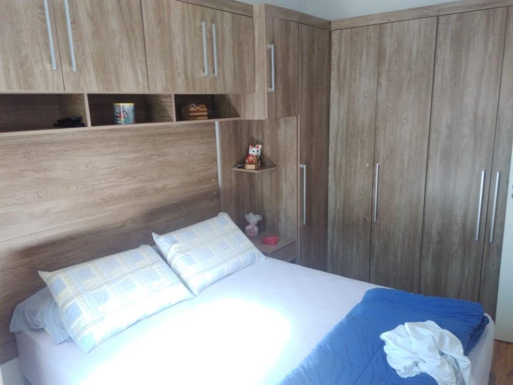 apartamento, 2 dorms, 1 vaga, campo limpo, cond. orquídeas