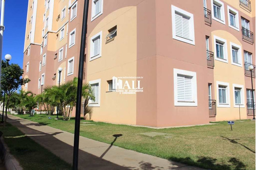 apartamento 2 dorms, elevador, 1 vg, são josé do rio preto - v223
