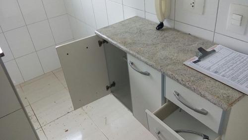 apartamento 2 dorms para locação anual no nova mogilar em mo - l47