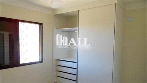 apartamento 2 dorms, sacada, elev, 1 vg, são josé do rio preto. - v243