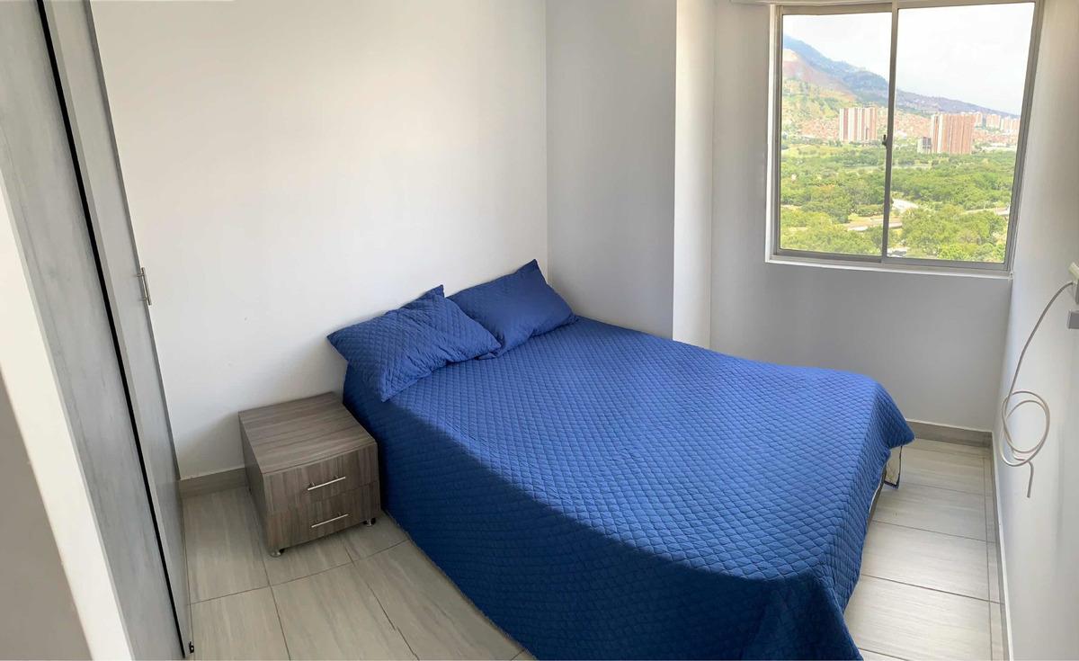apartamento 2 habitaciones 2 baños muy completa la unidad