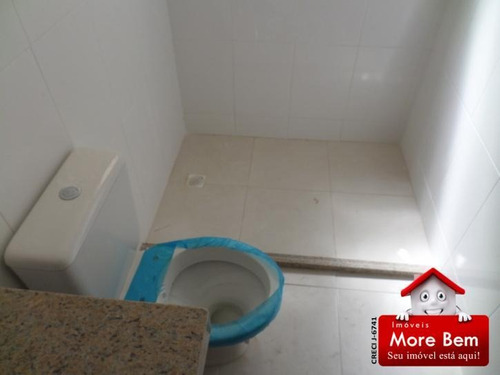 apartamento 2 quartos (1 suíte)  centro  são pedro da aldeia - ap2-132