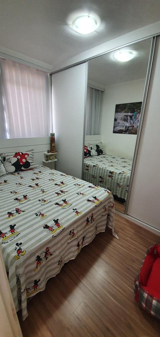 apartamento 2 quartos 1 vaga cabral contagem