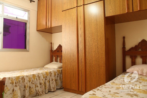 apartamento 2 quartos a venda no centro - v-1091