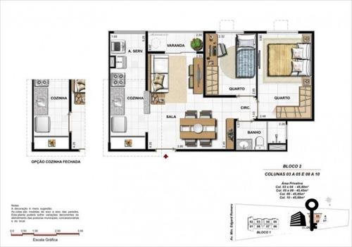 apartamento 2 quartos bella vita - madureira  - 107