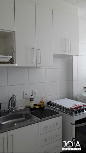 apartamento 2 quartos - caminhos da barra com armários  - 294