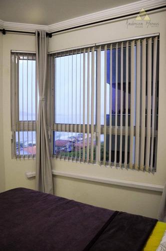apartamento 2 quartos frente mar em balneário piçarras - ap0441