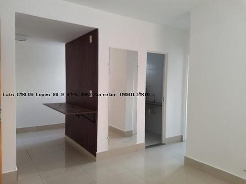apartamento 2 quartos para venda em teresina, cidade nova, 2 dormitórios, 1 banheiro, 1 vaga - apto solaris ii sul