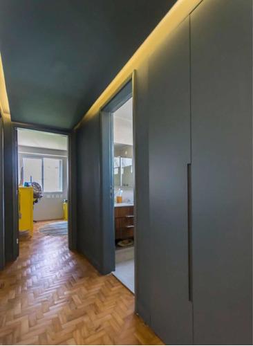 apartamento 2 quartos reformado 95 metros 1 vaga no paraíso
