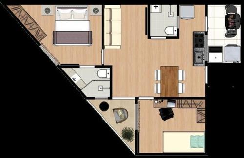 apartamento 2 quartos santo andré - sp - jardim alzira franco - 1142