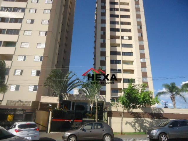 apartamento 2 quartos sendo 1 suíte, à venda por r$ 215.000 - parque amazônia - goiânia/go - ap0272