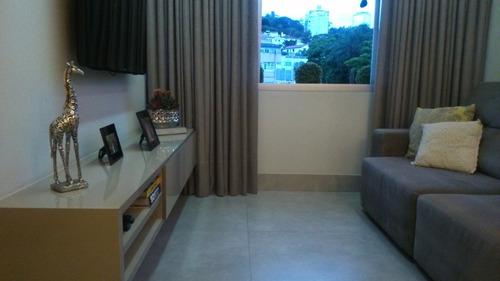 apartamento 2 quartos à venda, 2 quarto(s), belo horizonte/mg - 3345