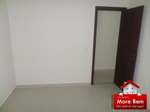 apartamento 2 quartos(1 suíte) -centro- são pedro da aldeia - ap2-208