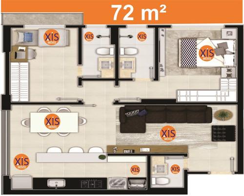 apartamento 2 suites, inspirare residence, setor marista