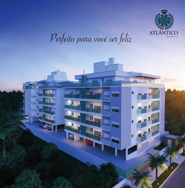 apartamento 2 suítes + lavabo - 200m do mar - praia de palmas - ap4998