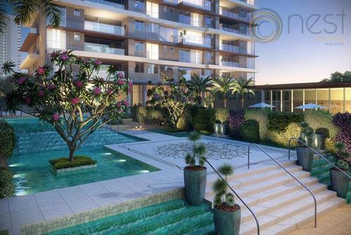 apartamento 2 suítes à venda, água verde, curitiba. - ap0205