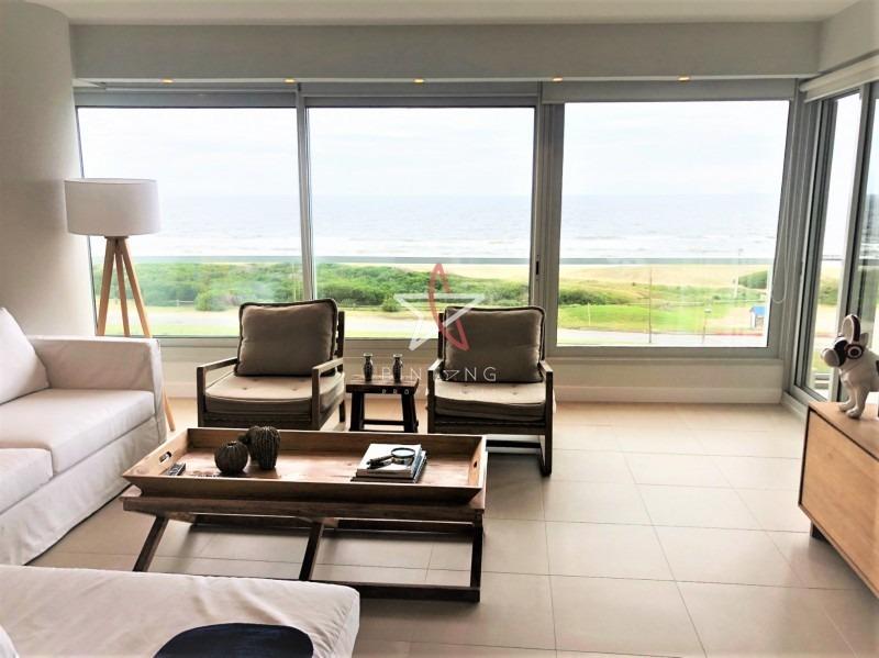 apartamento, 2 y dep, punta del este, playa brava, venta- ref: 355