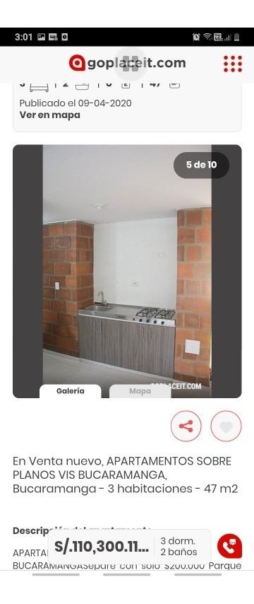 apartamento 204 con 3 habitaciónes 2 baño parqueadero social