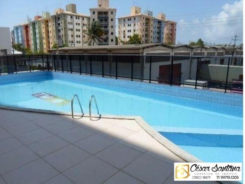 apartamento 2/4 com suite e varandas maré nostrum - ap00342 - 32381111