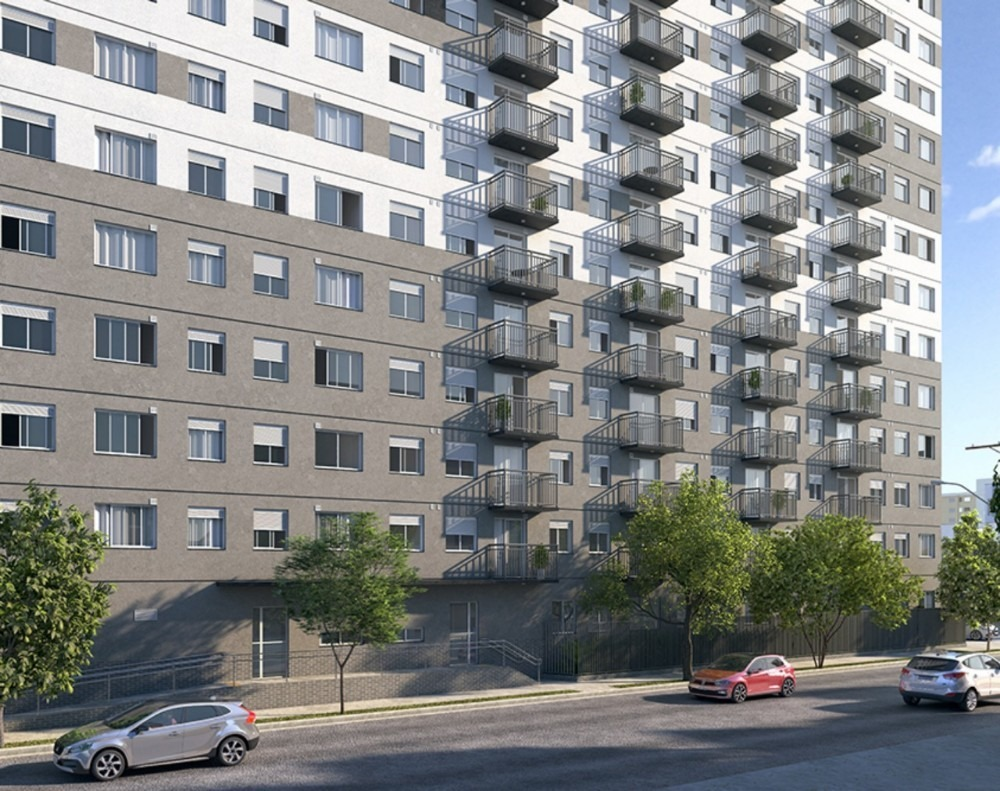 apartamento 25m² com suíte, na planta a 600m do metrô brás