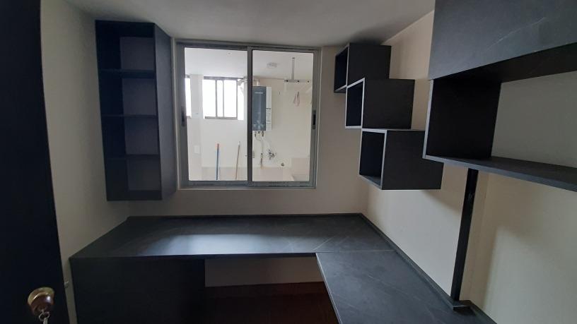 apartamento, 3 alcobas,estudio,barra americana,chimenea,2 ba