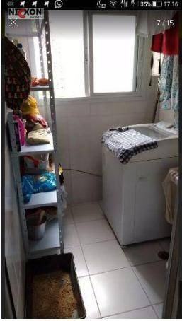 apartamento 3 dorm - 2 vagas mobiliado rua shopping maia. - ap0860
