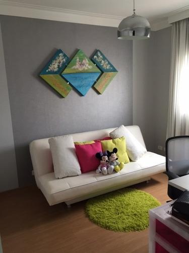 apartamento 3 dormitórios 1 súite grand garden vila prudente
