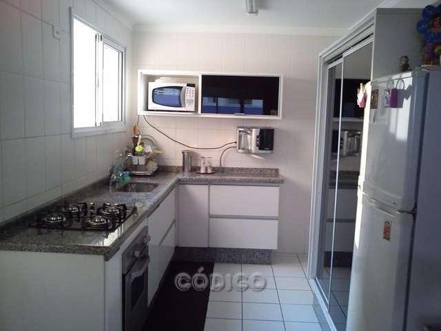 apartamento 3 dormitórios 2 vagas, jardim zaira - ap0072-1