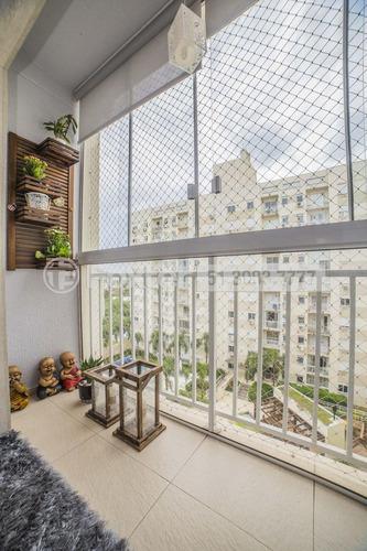 apartamento, 3 dormitórios, 72 m², camaquã - 152881