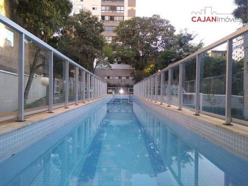 apartamento 3 dormitórios com 2 vagas no bairro petrópolis - ap2595