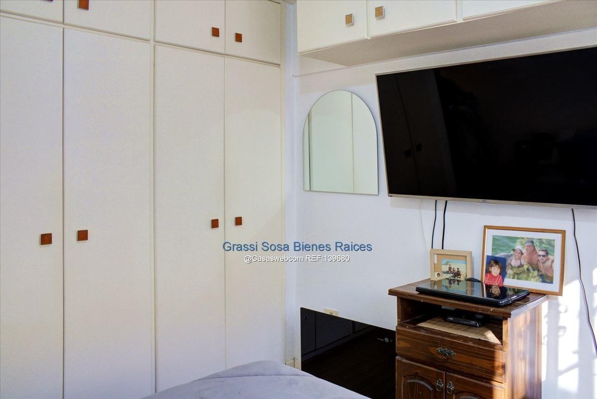 apartamento, 3 dormitorios con 2 patios y garage. pocitos