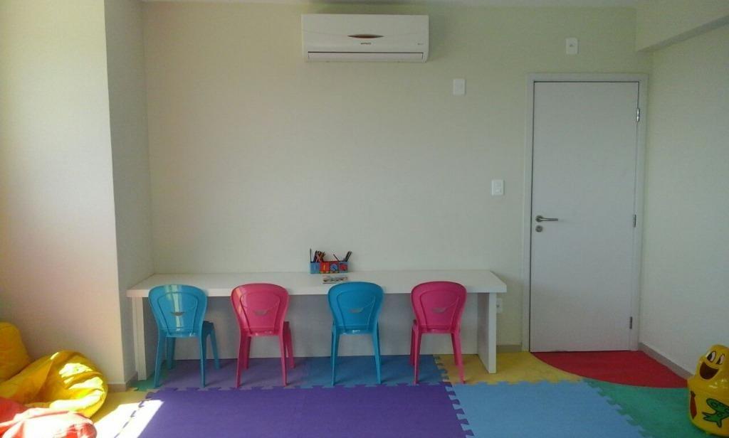 apartamento 3 dormitórios c/suíte - 3 vagas- mobiliado pedra branca, palhoça - ap2407