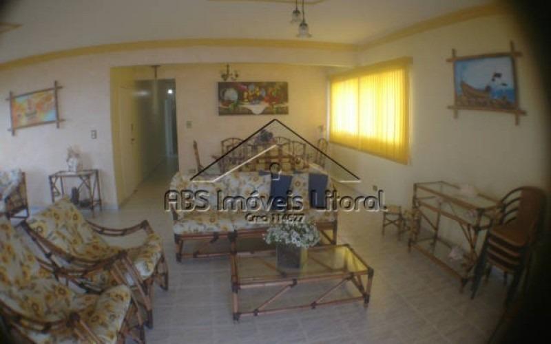 apartamento 3 dormitórios frente mar no jardim imperador praia grande - sp