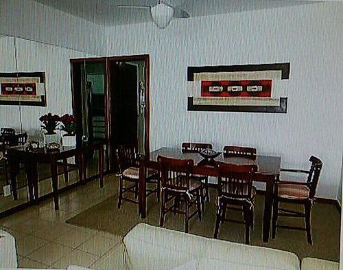 apartamento 3 dormitórios - guarujá - enseada - tortugas - ap0669