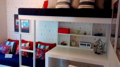 apartamento 3 dormitorios lazer completo